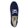 Blue textile sneakers tomy-takkies, blue , 519-9691 - 19