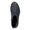 Ladies' ankle shoes bata, blue , 696-9606 - 19