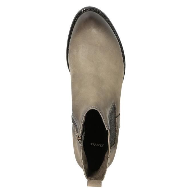 Ladies' ankle shoes bata, brown , 596-2603 - 19