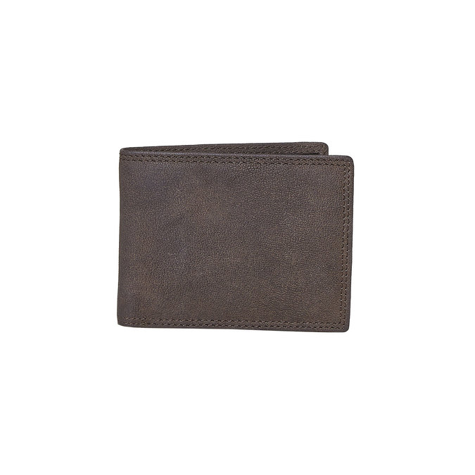 Men's leather wallet bata, brown , 944-4129 - 13
