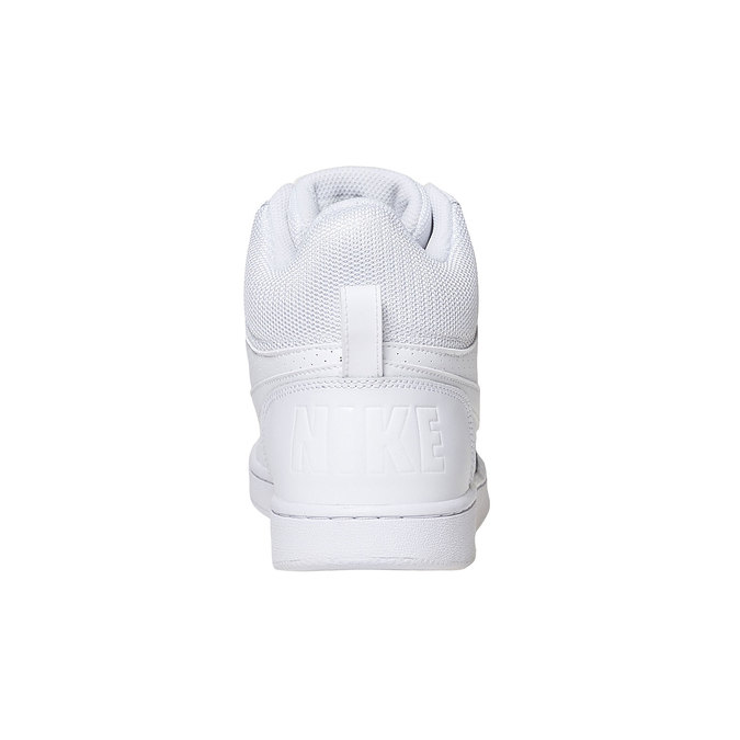 White ankle sneakers nike, white , 801-1332 - 17