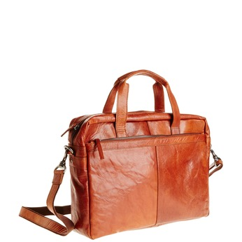 Leather bag bata, brown , 964-3153 - 13