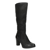 Women's high boots bata, black , 796-6601 - 13