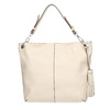Handbag with tassels, beige , 961-8703 - 26