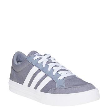 Men's grey sneakers adidas, gray , 889-2235 - 13