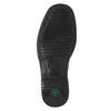 Men's leather moccasins, black , 814-6622 - 19