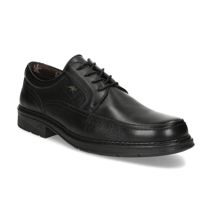 Men's leather dress shoes fluchos, black , 824-6448 - 13