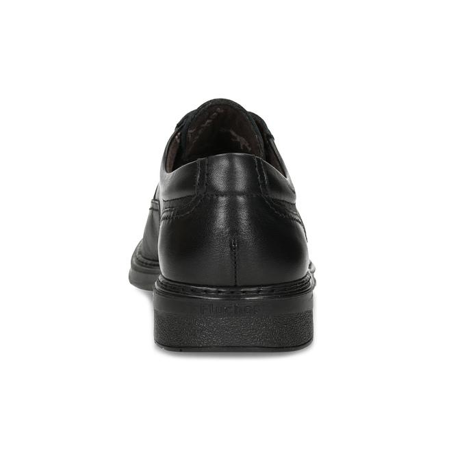 Men's leather dress shoes fluchos, black , 824-6448 - 15