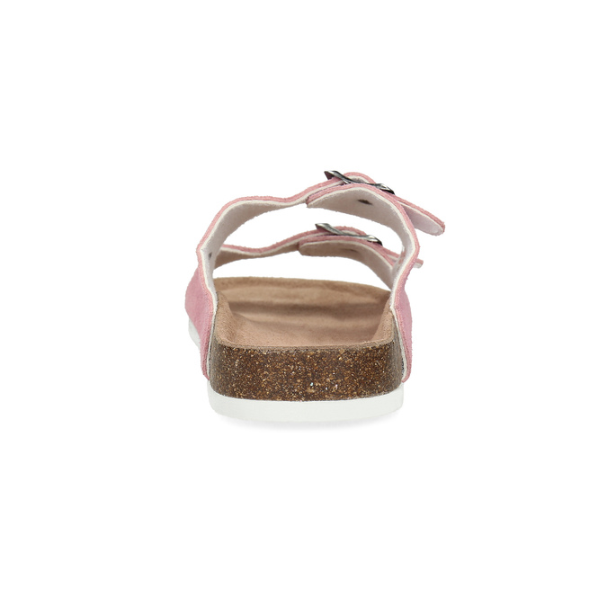 Ladies' leather sandals, pink , 573-5621 - 15