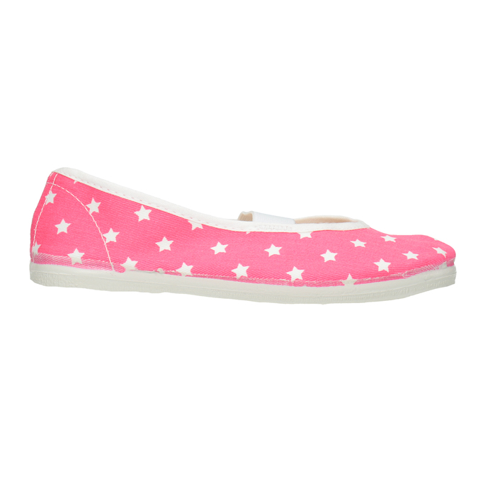 Children's Gym Shoes with Stars, pink , 379-5217 - 26