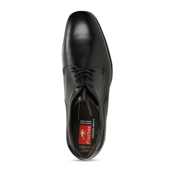 Men's Leather Derby Shoes, black , 824-6440 - 17