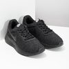 Ladies' black sneakers, black , 509-0157 - 26