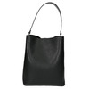 Ladies' two-tone handbag bata, black , 961-6173 - 17